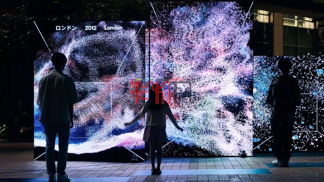 22件全球新媒体艺术光影装置赏析
